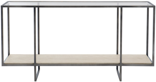 """Bernhardt 60"""" Freestanding Occasional Harlow Metal Console Table -1"""