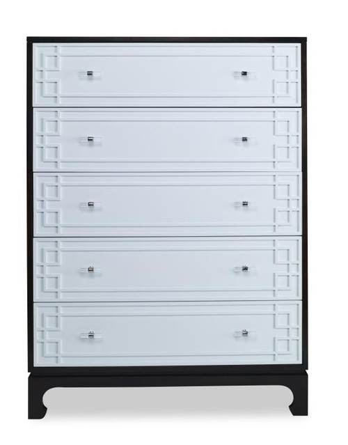 "52"" - 55"" Century Furniture Five Drawer Low Chest - 1"