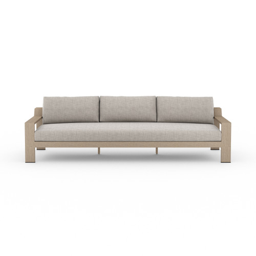 Four Hands Monterey Outdoor Sofa - Washed Brown 5 - 1