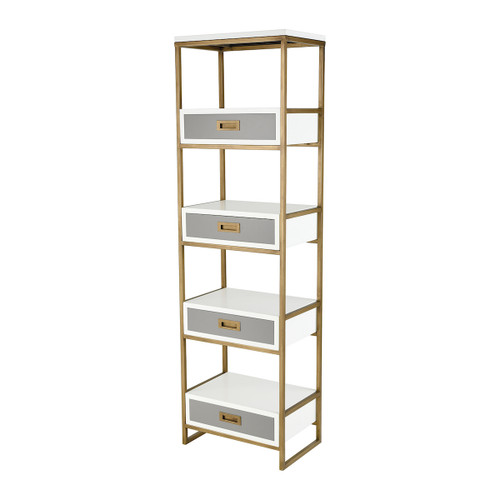 "68"" ELK Home Olympus Shelving Unit, Transitional - 1"