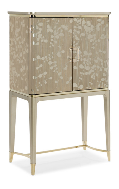 """Caracole 58"""" Caracole Classic - A New Leaf, Champagne Shimmer, Taupe Paint-1"""