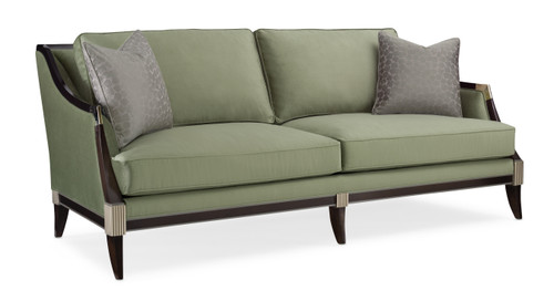 """Caracole 83"""" Caracole Upholstery - Empress, Bronzed Ebony, Afterglow, Charcoal-1"""