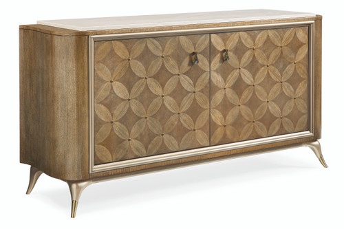 "Caracole 69"" Caracole Classic - Pattern Play, Dappled Mink, Warm Reflections-1"