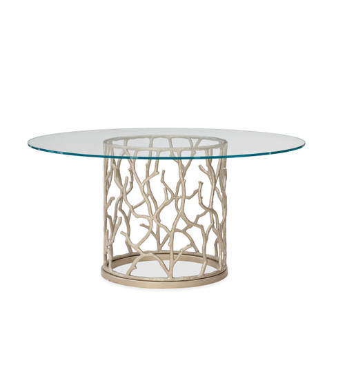 """54"""" Caracole Classic - Around the Reef, Neutral Metallic"""