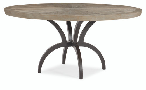 """Caracole 54"""" Caracole Classic - Rough And Ready, Ash Driftwood, Chocolate Bronze-1"""