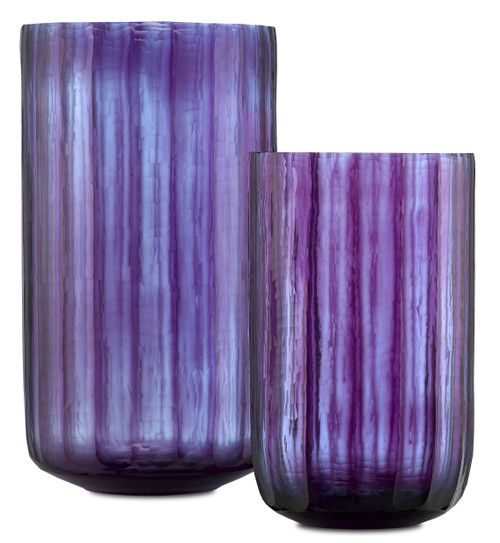 "12"" Currey and Company Hyacinth Vase Set - 1"