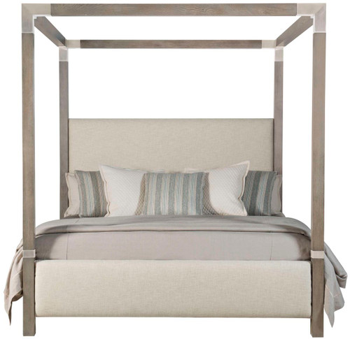 Bernhardt Interiors Uph. Bed Program Palma Upholstered Canopy Bed - 1