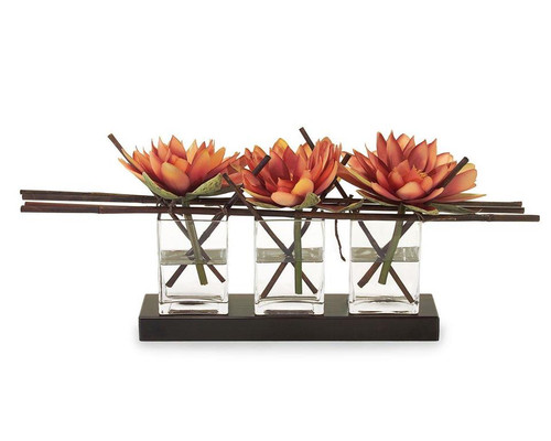 "29"" John Richard Water Lilies Planter II - 1"