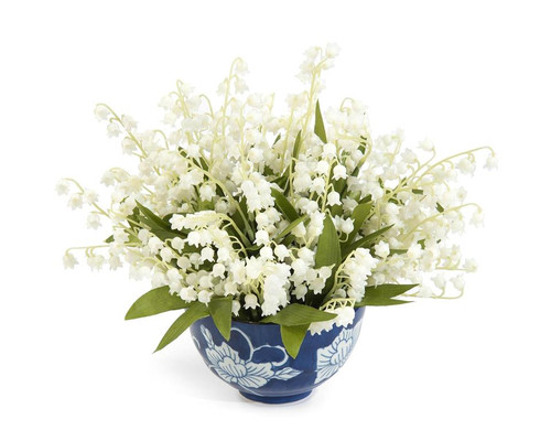 "11"" John Richard Lily of the Valley Planter - 1"