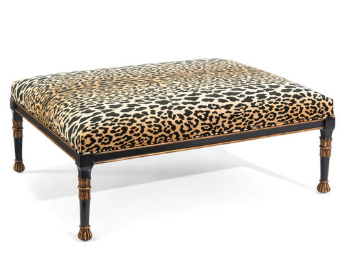 "48"" John Richard Upholstered Cocktail Ottoman - 1"