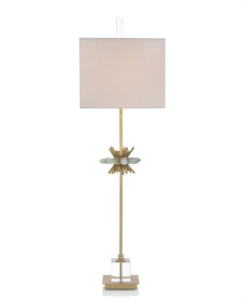"40"" John Richard Fluorite Points Buffet Lamp - 1"