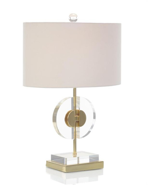 "24"" John Richard Half-Moon Table Lamp - 1"