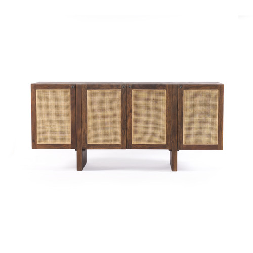 """32"""" Four Hands Goldie Sideboard Cabinet - Toasted Acacia - 1"""