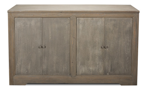 Sarreid 2 Door Sideboard, Grey Wash Finish  -1