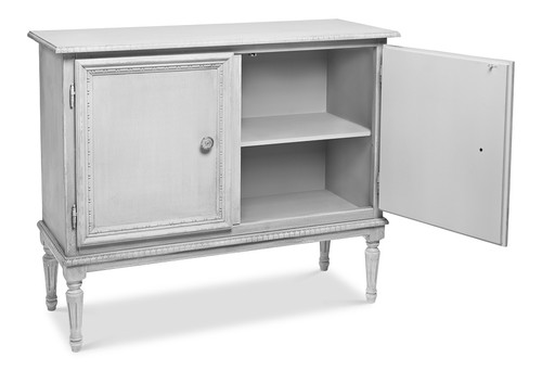 Sarreid 2 Door Sideboard, Unfinished  -1