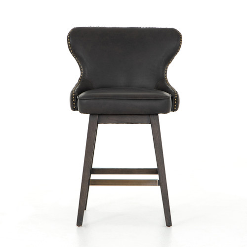 """39"""" Four Hands Julie Swivel Bar and Counter Stool - 1"""