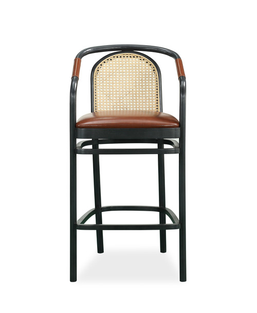 "ART Furniture Bobby Berk - 48"" Moller Bar Chair, Light Oak -1"