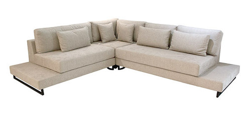 Modular Couch With Milton Fabric