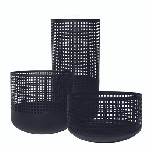 S/3 Perforated Bowls
