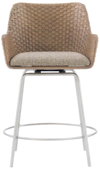 "Bernhardt 38"" Bernhardt Loft / Logan Square Meade Swivel Counter Stool -1"