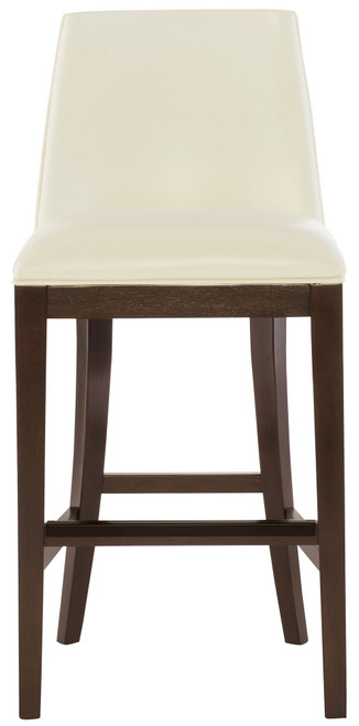 """Bernhardt 38"""" Bernhardt Interiors Custom Leather Chair Program Bailey Leather Counter Stool (Cocoa finish only) -1"""