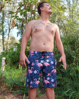 Men's Swim | Flamingo (long)