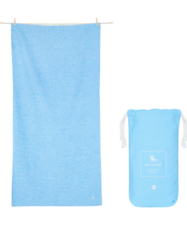Essential Eco Towel | Lagoon Blue