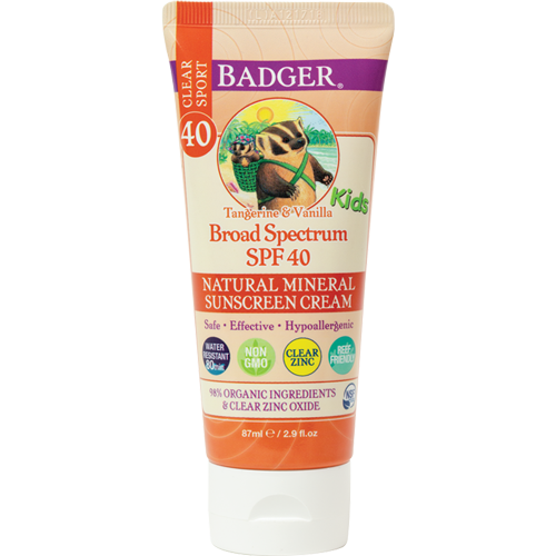 Badger - Kids Sport Sunscreen Clear Zinc SPF 40
