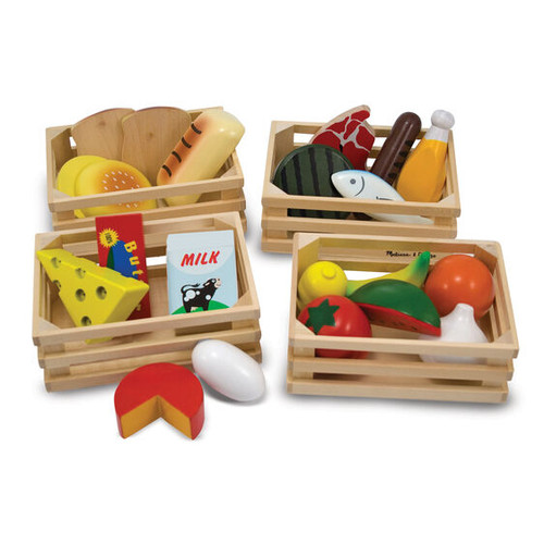 Food Groups- Wooden Play Food