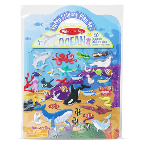 Puffy Sticker Play Set- Ocean