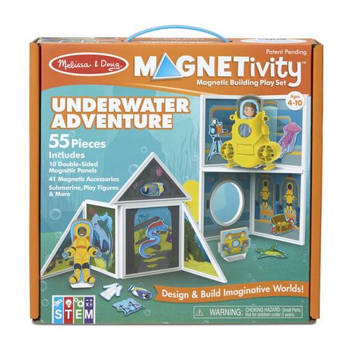 Magnetivity Magnetic Building Play Set - Underwater Adventure