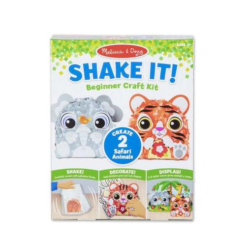 Shake It! Safari Animals Beginner Craft Kit