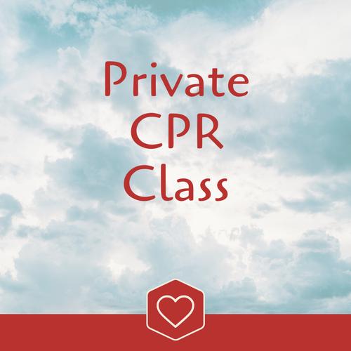 ** Private CPR class **