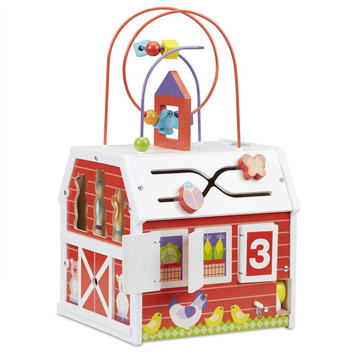 Melissa & Doug First Play Activity Barn