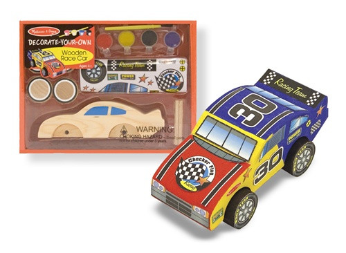 Race Car Decorate Your Own