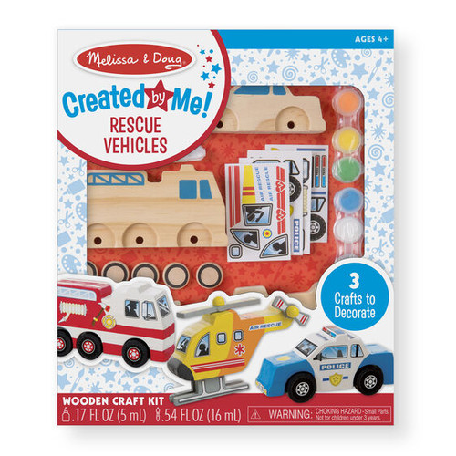 Rescue Vehicles Craft Set