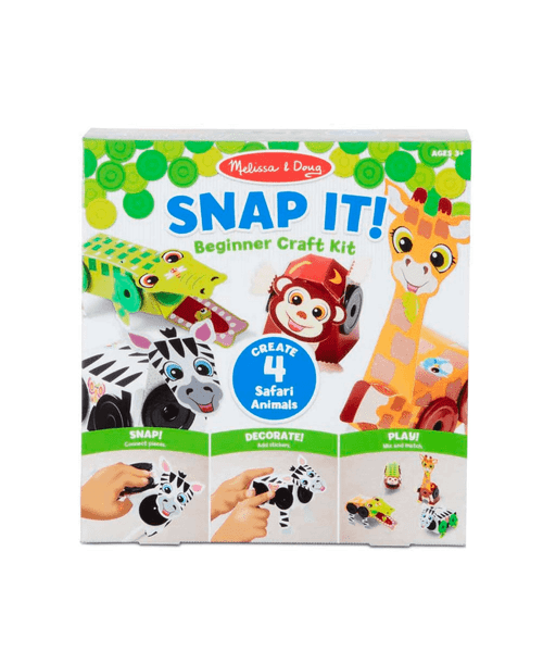 Snap It Beginner Craft Kit Safari