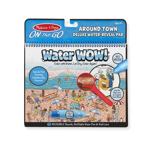 Water Wow! Around Town Deluxe Water-Reveal Pad - On the Go Travel Activity