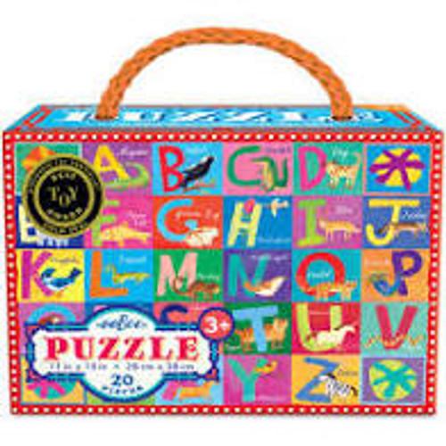 Alphabet Puzzle 20 Pieces Eeboo