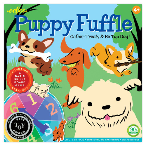 Puppy Fuffle Board Game Eeboo