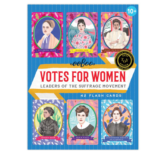 Votes for Women Flash Cards Eeboo