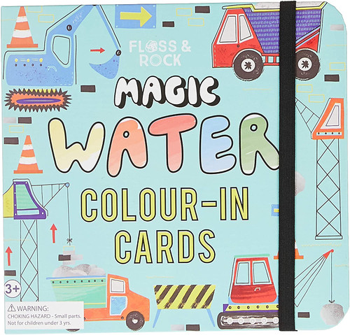 Floss & Rock Magic Water Cards - Construction