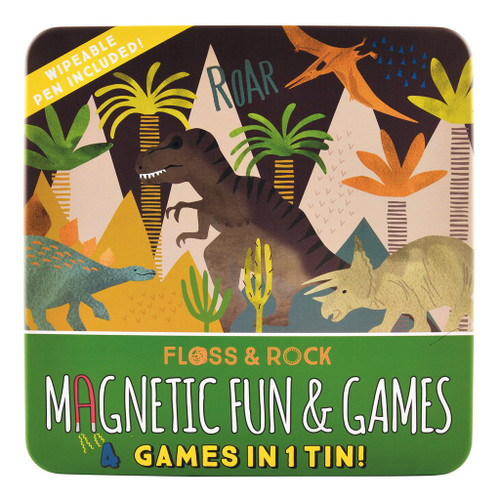 Floss & Rock Dino Magnetic Fun & Games