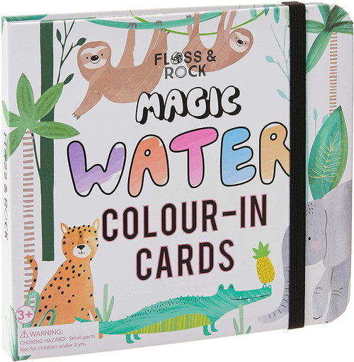 Floss & Rock Magic Water Cards - Jungle