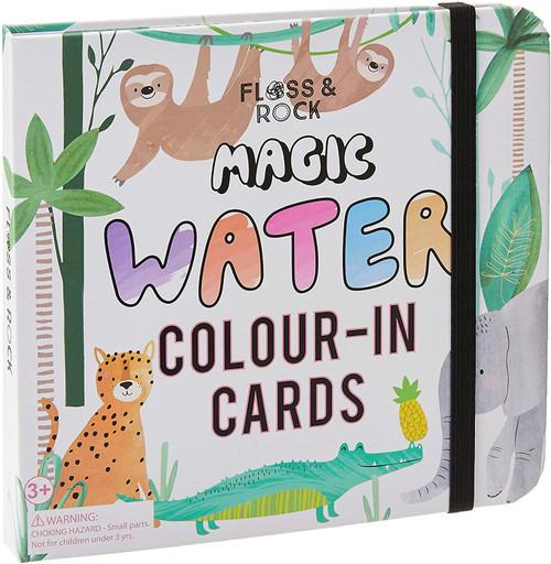Floss & Rock Magic Water Cards - Jungle