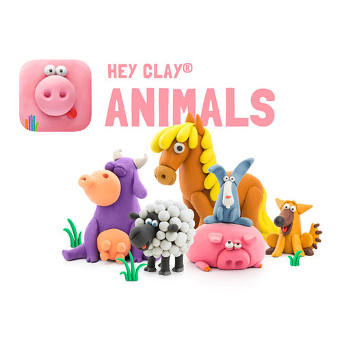 Hey Clay Animal Art Set