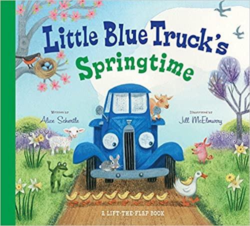 Little Blue Truck's Springtime Book