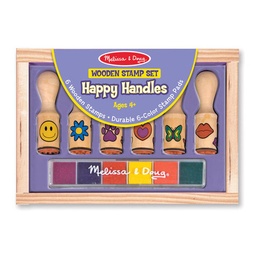 Happy Handles Wooden Stamp Set
