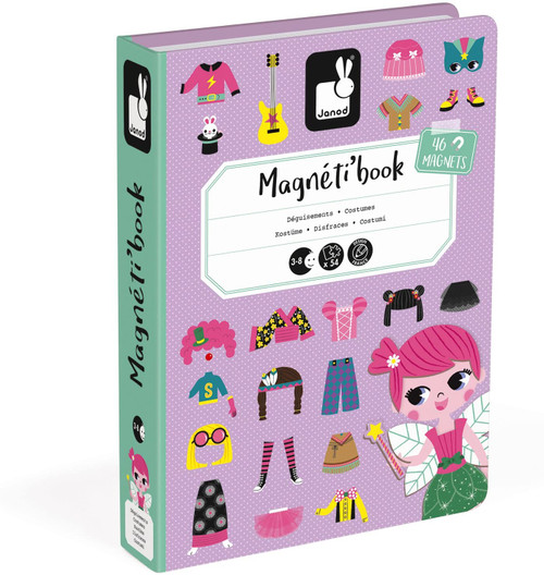 Janod Dress Up Magnetibook