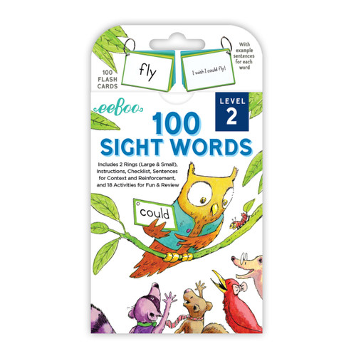 100 Sight Words Cards - Level 2